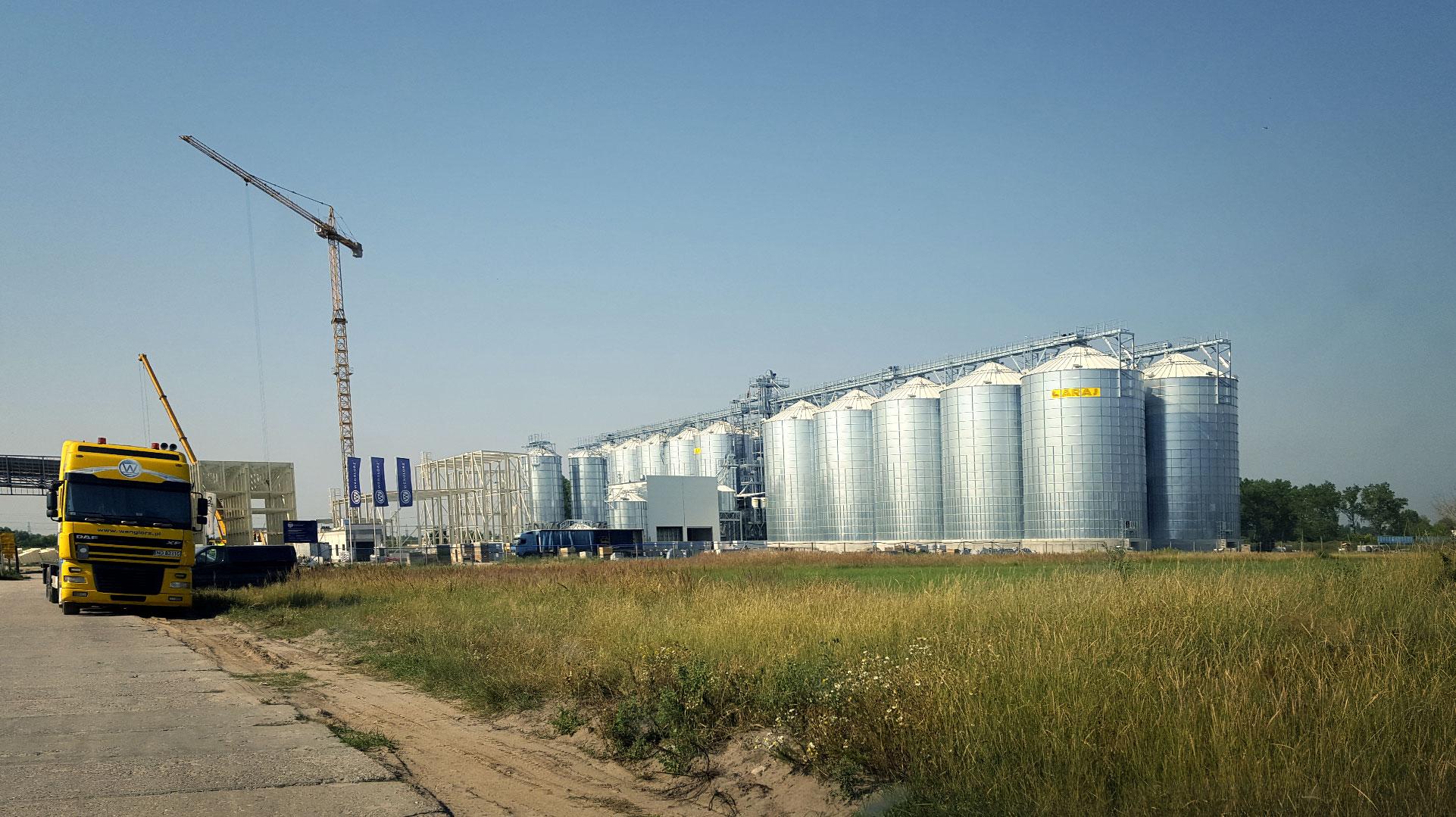 Obiekt obsługiwany przez DB Project - firmę zajmującą się automatyzacją procesów przemysłowych
