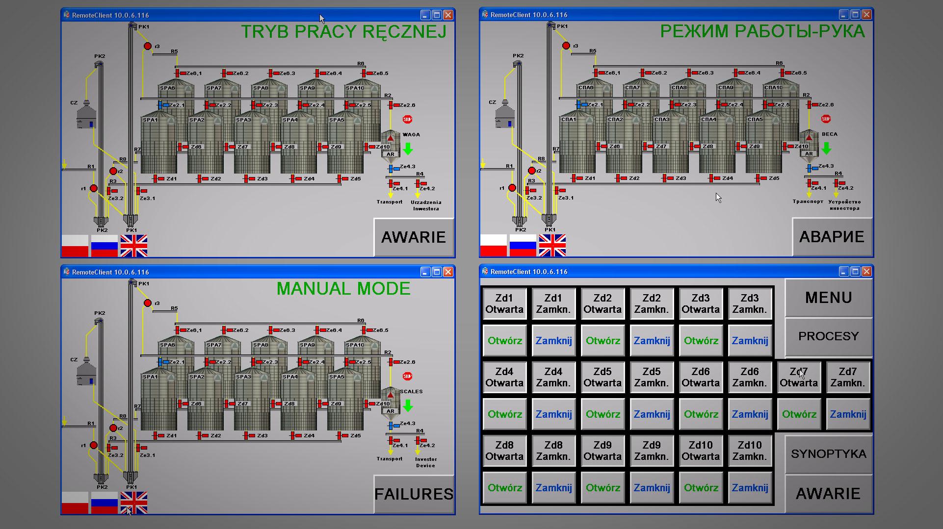 Wizualizacje - Automatyka przemysłowa - DB Project - Eaton