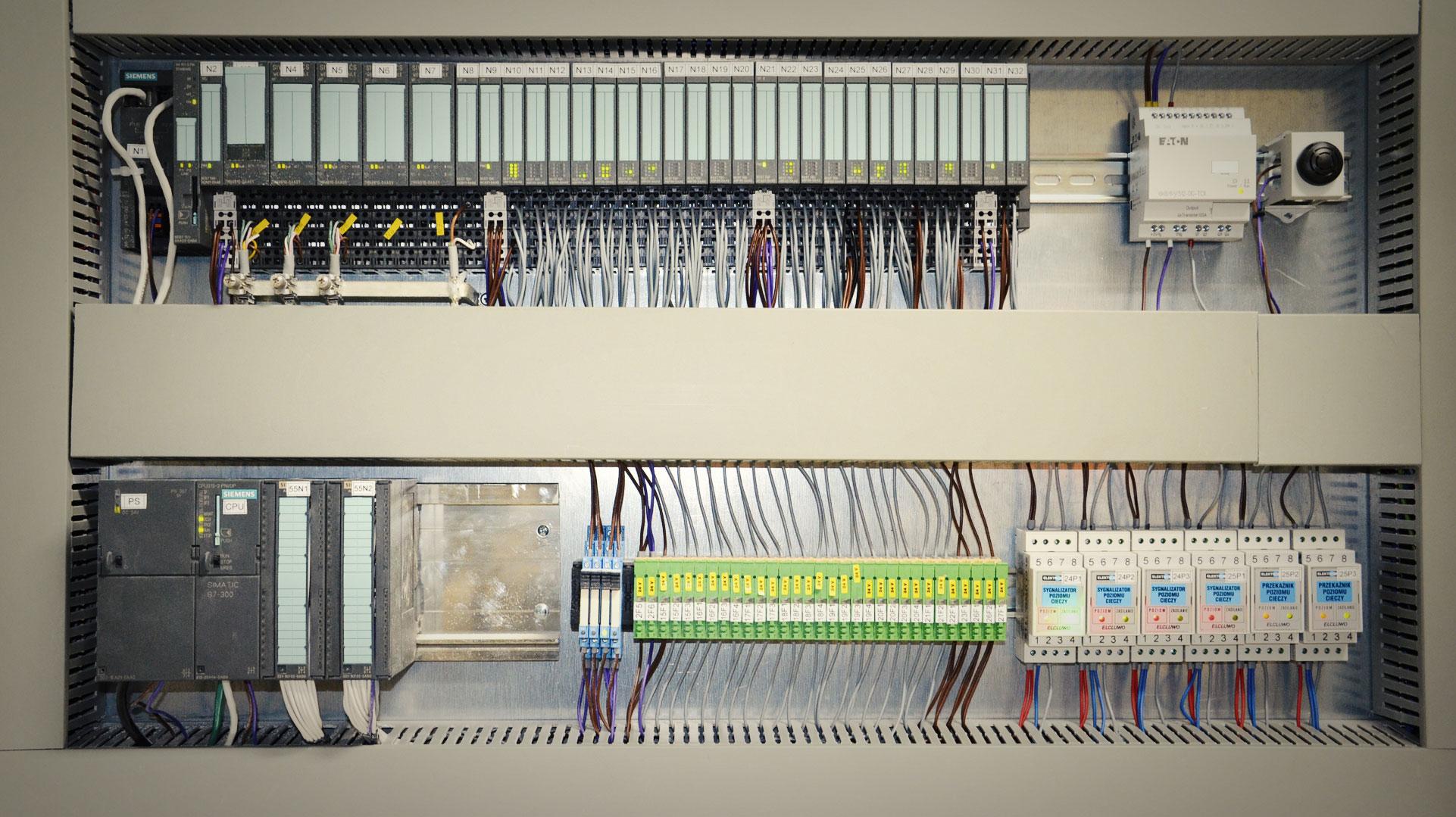 Automatyka - sterownik Siemens Simatic S7-300 - DB Project